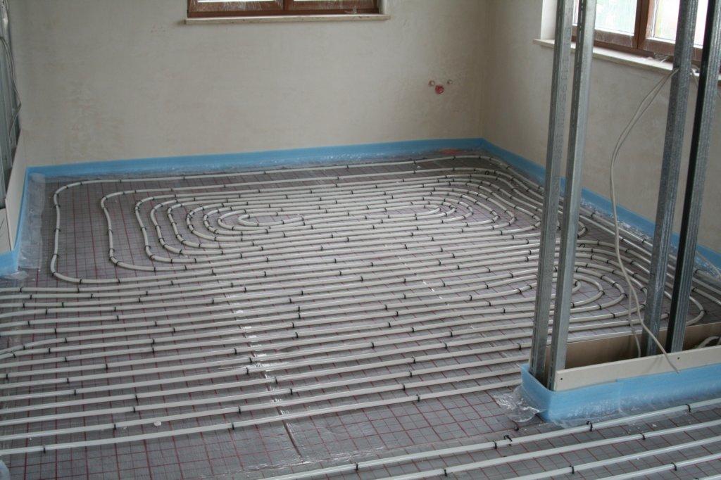 Fußbodenheizung Lindner-Norit